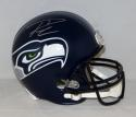 Russell Wilson Autographed Seattle Seahawks F/S Helmet with Wilson Hologram