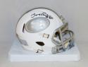 Jerry Rice Autographed San Francisco 49ers ICE Mini Helmet- JSA Witnessed Auth