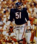 Dick Butkus Autographed Chicago Bears 8x10 Vertical Photo With HOF- Tristar Auth