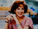 Molly Ringwald Autographed 11x14 The Breakfast Club Photo- JSA Authenticated