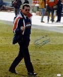 Mike Ditka Autographed Bears 16x20 Finger Photo W/ Your # 1- JSA Authenticated