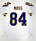 Randy Moss Autographed White Pro Style Jersey- JSA Witnessed Authenticated