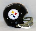 Terry Bradshaw #12 Autographed Pittsburgh Steelers F/S TK Helmet- JSA W Auth