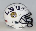 Odell Beckham Autographed LSU Tigers F/S White Authentic Schutt Helmet- JSA Auth