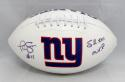 Phil Simms Autographed New York Giants Logo Football W/ SB MVP- JSA W Auth
