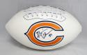 Brian Urlacher Autographed Chicago Bears Logo Football- JSA Witnessed Auth