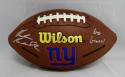 Rueben Randle Autographed NY Giants Wilson Logo Football W/Go Giants- JSA W Auth