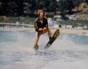 Henry Winkler Autographed Happy Days 16x20 The Fonz On Water Skis Photo- JSA Auth