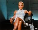 Sharon Stone Signed Basic Instinct 16x20 Legs Crossed Horizontal Photo- PSA Auth