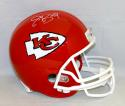 Eric Berry Autographed Kansas City Chiefs Full Size Helmet- JSA Witnessed Auth