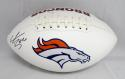 Shane Ray Autographed Denver Broncos Logo Football- JSA Witnessed Authenticated