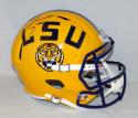 Leonard Fournette Autographed LSU Tigers Full Size Speed Helmet- JSA W Auth