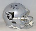 Amari Cooper Autographed Oakland Raiders Speed Full Size Helmet- JSA W Auth