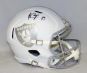 Amari Cooper Autographed Oakland Raiders ICE Speed Full Size Helmet- JSA W Auth