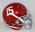 Amari Cooper Autographed Alabama Crimson Tide F/S Authentic Helmet- JSA W Auth