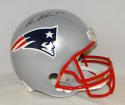 Wes Welker Autographed New England Patriots Full Size Helmet- Fanatics Auth