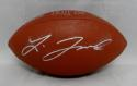 Leonard Fournette Autographed Wilson NFL MVP Football- JSA Witnessed Auth