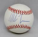 Mike Tyson Autographed Rawlings OML Baseball- JSA Witnessed Authenticated