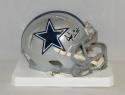 Dak Prescott Autographed Dallas Cowboys Speed Mini Helmet- JSA Witnessed Auth