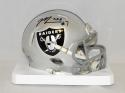 Marquette King Autographed Oakland Raiders Speed Mini Helmet- JSA Witnessed Auth