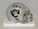 Amari Cooper Autographed Oakland Raiders Speed Mini Helmet- JSA Witnessed Auth