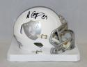 Amari Cooper Autographed Oakland Raiders ICE Speed Mini Helmet- JSA W Auth