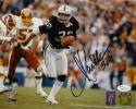 Marcus Allen Autographed Oakland Raiders 8x10 Running PF. Photo- JSA W Auth