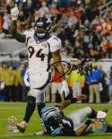 DeMarcus Ware Autographed Denver Broncos 8x10 Sacking Cam PF. Photo- JSA W Auth