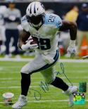 DeMarco Murray Autographed Tennessee Titans 8x10 Running PF. Photo- JSA W Auth
