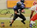 LaDainian Tomlinson Signed TCU Horned Frogs 8x10 On Field PF. Photo- JSA W Auth