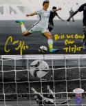 Carli Lloyd Signed Team USA 8x10 Dual Shot Photo W/ Best WC Goal- JSA W Auth
