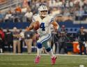 Dak Prescott Autographed Dallas Cowboys 16x20 Pink Shoes Photo- JSA W Auth