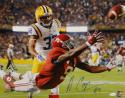 Amari Cooper Autographed Alabama 16x20 Diving Catch vs LSU PF. Photo- JSA W Auth