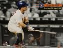Jose Altuve Autographed Houston Astros 16x20 Career Hit PF. Photo- JSA W Auth