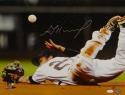 Jose Altuve Autographed 16x20 Houston Astros Ball Flip PF. Photo- JSA W Auth