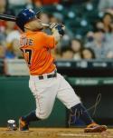 Jose Altuve Autographed Houston Astros 16x20 Batting PF. Photo- JSA W Auth