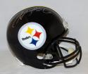 LeVeon Bell Autographed Pittsburgh Steelers Full Size Helmet- JSA Witnessed Auth