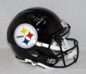 Ben Roethlisberger Autographed Pittsburgh Steelers F/S Speed Helmet- JSA W Auth