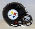 LeVeon Bell Autographed Steelers Full Size Proline Helmet- JSA Witnessed Auth