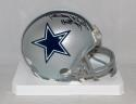 Randy White Autographed Dallas Cowboys Mini Helmet With HOF- JSA Witnessed Auth