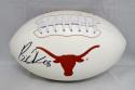 Brian Orakpo Autographed Texas Longhorns Logo Football- JSA Witnessed Auth