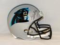 Kelvin Benjamin Autographed Carolina Panthers F/S Helmet- JSA Witnessed Auth