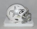 Emmitt Smith Autographed Dallas Cowboys ICE Speed Mini Helmet- JSA W Auth