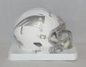 Martellus Bennett Autographed New England Patriots ICE Mini Helmet- JSA W Auth