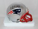 LeGarrette Blount Autographed New England Patriots Mini Helmet- JSA W Auth
