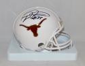 D'Onta Foreman Autographed Texas Longhorns Riddell Mini Helmet- JSA W Auth