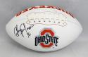 Chris Spielman Autographed Ohio State Buckeyes Logo Football- JSA Witnessed Auth