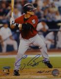 Craig Biggio HOF Autographed Houston Astros 8X10 Batting PF Photo- Tristar Auth