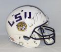 Leonard Fournette Autographed LSU Tigers F/S White Schutt Helmet- JSA W Auth