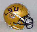 Leonard Fournette Autographed LSU Tigers F/S Gold Schutt Helmet- JSA W Auth
